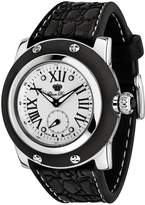 Glam Rock Men's GR30015BB Summer Time Collection Black Silicone Watch