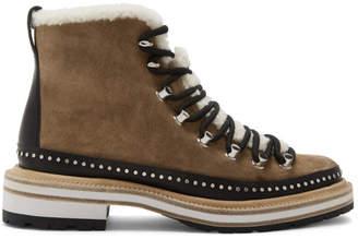 Rag & Bone Tan Suede Compass Boots