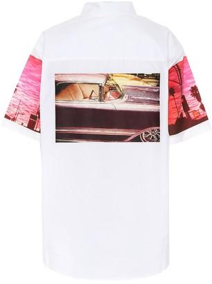 Calvin Klein Jeans Est. 1978 Printed cotton shirt
