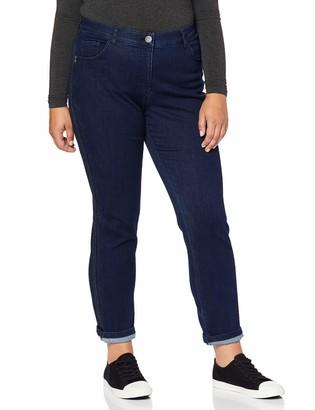 Ulla Popken Women's Jeans Mit Galonstreifen Sammy Groe Groen Slim