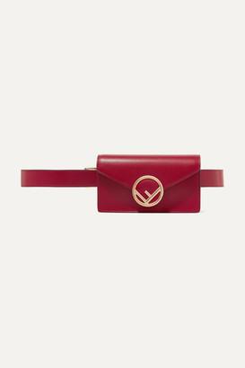Fendi Leather Belt Bag - Red