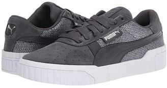 Puma Cali Sequin (Ebony) Women's Shoes