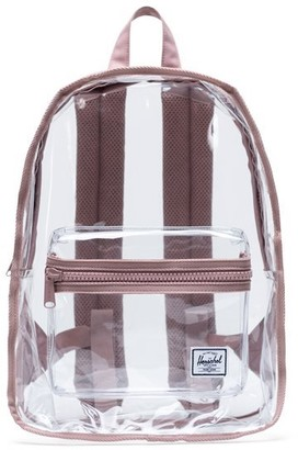 Herschel Classic Clear Mid-Volume Backpack Ash Rose