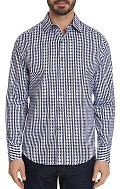 Robert Graham Hackman Check-Pattern Classic Fit Shirt