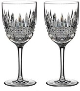 Waterford 'Lismore Diamond' Lead Crystal Goblets