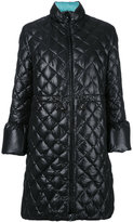 Emporio Armani reversible padded jacket - women - Feather Down/Polyester - 42
