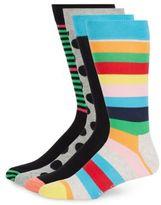 Happy Socks Assorted Cotton-Blend Socks/4-Pack