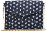 Urban Expressions Mercury Denim Clutch