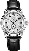 Rotary Men's Canterbury Leather Strap Watch