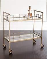 Arteriors Kingston Brass Bar Cart