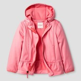 Cat & Jack Toddler Girls' Softshell Hooded Skirted Jacket Cat & Jack - Pink