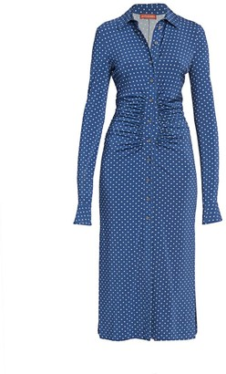 Altuzarra Claudia Polka Dot Shirtdress