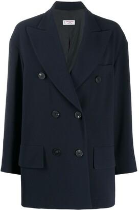 Alberto Biani Double Breasted Coat