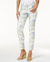 Charter Club Petite Bristol Jacquard Skinny Jeans, Only At Macy's
