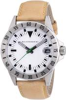 HUGO BOSS Baldessarini Men's Quartz Watch DUB Y8030W/20/00 with Leather Strap