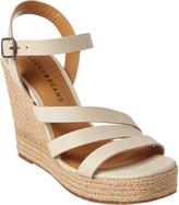 Lucky Brand Latif Leather Wedge Sandal