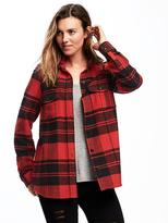 Old Navy Classic Flannel Shirt Jacket for Women