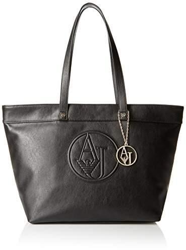 Armani Jeans Matte Eco Leather Tote