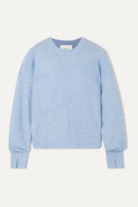 3.1 Phillip Lim Lofty Melange Knitted Sweater - Sky blue
