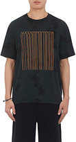 Alexander Wang MEN'S BAR-CODE COTTON JERSEY T-SHIRT