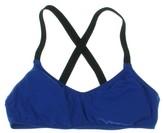 Polo Ralph Lauren Womens Colorblock Criss-Cross Back Swim Top Separates