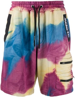 Mauna Kea Tie-Dye Track Shorts
