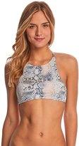 Roxy Swimwear Printed Strappy Love Crop Bikini Top 8151929