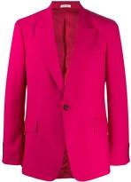 Alexander McQueen fitted button blazer