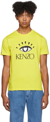 Kenzo Yellow Limited Edition Cupid T-Shirt