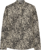 Vanessa Seward Argentina printed silk-jacquard blouse