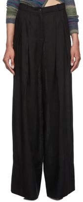 Jacquemus Black Le Pantalon Avignon Trousers