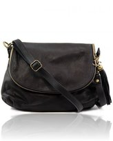 Tuscany Leather TL Bag Soft bag with a shoulder strap with tassel