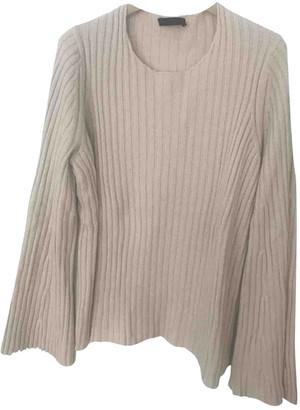 The Row Beige Cashmere Knitwear