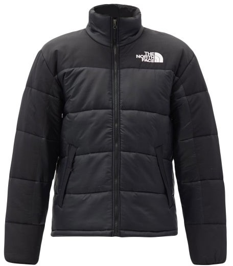 The North Face Logo-embroidered Quilted Ripstop Jacket - Black