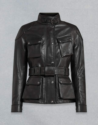 Belstaff Trialmaster Pro W Motorcycle Jacket Black UK 4 /