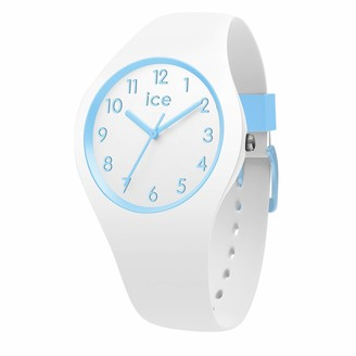 Ice Watch Ice-Watch - ICE ola kids Cotton white - Boy's wristwatch with silicon strap - 014425 (Small)