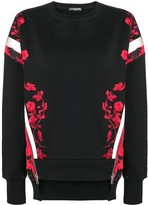 Alexander McQueen embroidered sweater