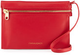 Cynthia Rowley Ines Leather Crossbody Bag, Red