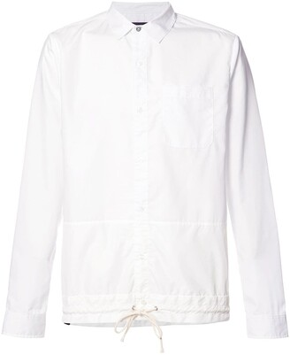 Mostly Heard Rarely Seen drawstring hem shirt