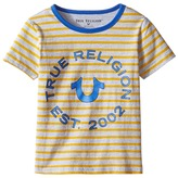 True Religion Heather Jersey Stripe Tee Boy's T Shirt