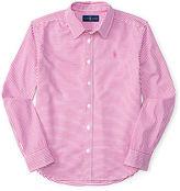 Ralph Lauren Bengal-Striped Oxford Shirt