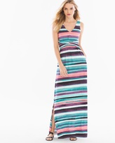 Soma Intimates Soft Jersey Knotted Waist Sleeveless Maxi Dress