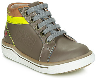 GBB QUITO boys's Shoes (High-top Trainers) in Grey