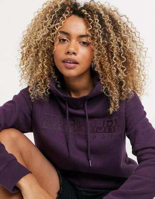 Napapijri BERBER WOM hoodie in purple wine