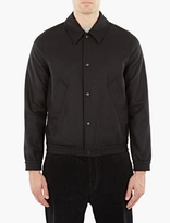Ami Black Wool Coach Jacket