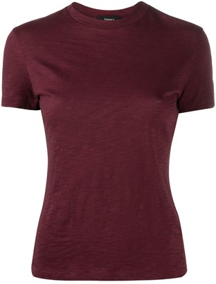 Theory round neck slim fit T-shirt