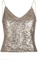 Alice + Olivia Delray Sequin Embellished Camisole