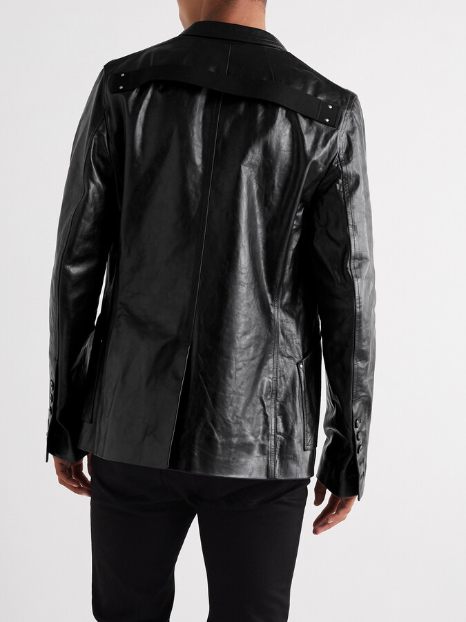 Thumbnail for your product : Rick Owens Island Leather Jacket