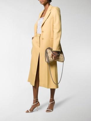 Stella McCartney Single-Breasted Long-Line Blazer