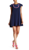 Cynthia Rowley CDC Bib Front Silk Dress